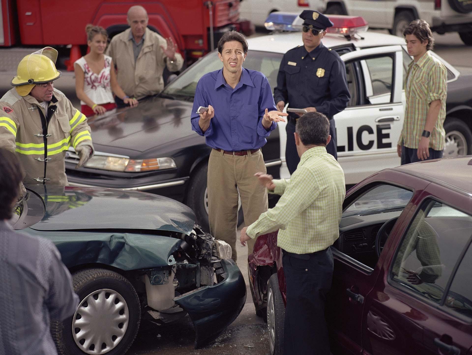 5 Etapas en El Proceso de Casos de Accidentes