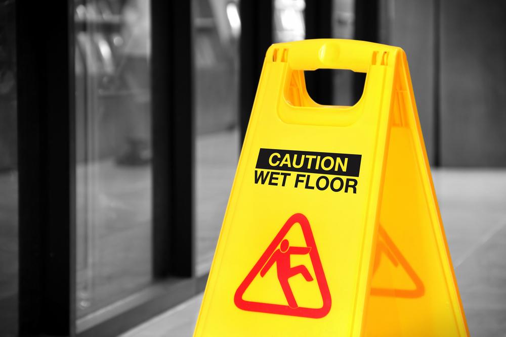 Accidentes de Resbalones y Caídas
