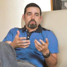 Cristobal Galindo - Durante entrevista Opinion