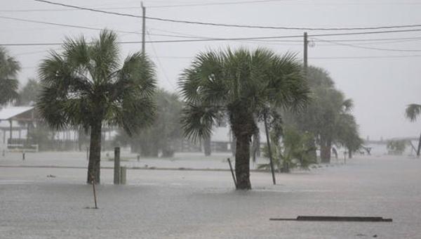 Huracán Hermine Llega Al Estado De La Florida