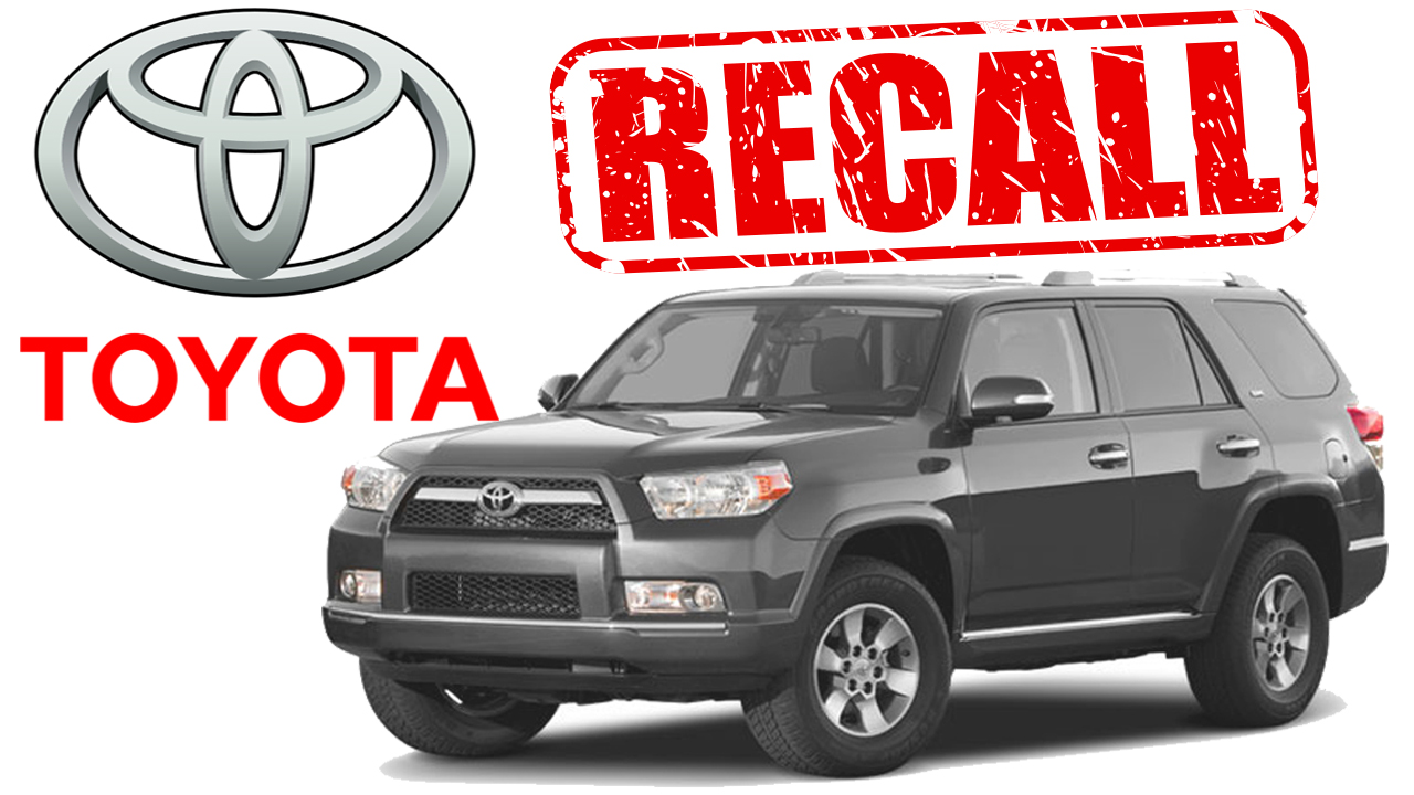 Toyota Recalls Millions of Vehicles Again