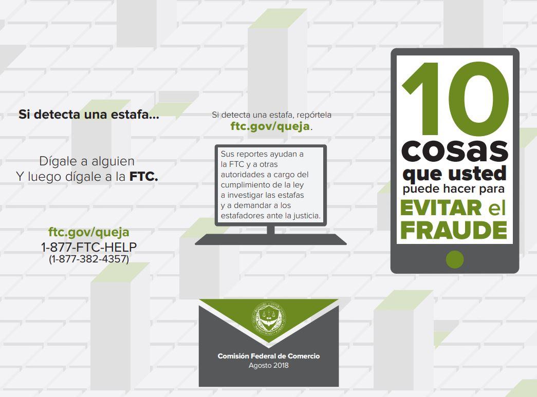 10 Cosas Que Usted Puede Hacer Para Evitar el Fraude