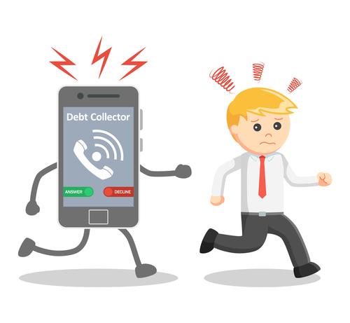 ¿Qué prácticas estan prohibidas para los cobradores de deudas?